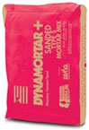 Dynamortar Plus™ Sanded Type S Mortar Mix